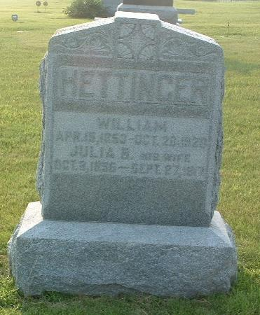 HETTINGER, WILLIAM - Mills County, Iowa | WILLIAM HETTINGER