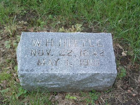 HITTLE, W.H. - Mills County, Iowa | W.H. HITTLE