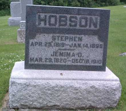 HOBSON, JEMIMA D. - Mills County, Iowa | JEMIMA D. HOBSON