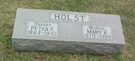 HOLST, PETER F. - Mills County, Iowa | PETER F. HOLST