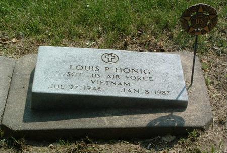 HONIG, LOUIS P. - Mills County, Iowa | LOUIS P. HONIG