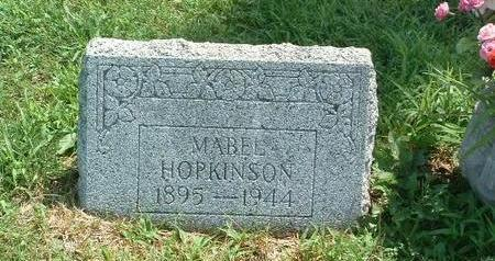 HOPKINSON, MABEL - Mills County, Iowa | MABEL HOPKINSON
