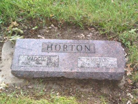 HORTON, MAGGIE H. - Mills County, Iowa | MAGGIE H. HORTON
