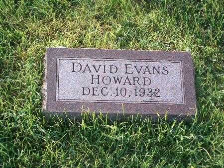 HOWARD, DAVID EVANS - Mills County, Iowa | DAVID EVANS HOWARD
