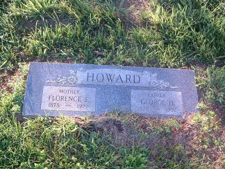 HOWARD, FLORENCE E. - Mills County, Iowa | FLORENCE E. HOWARD