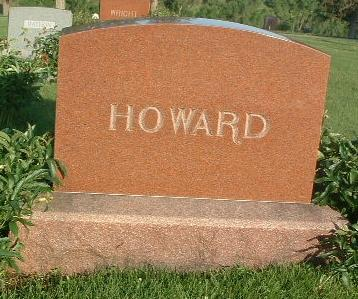 HOWARD, FAMILY HEADSTONE - Mills County, Iowa | FAMILY HEADSTONE HOWARD