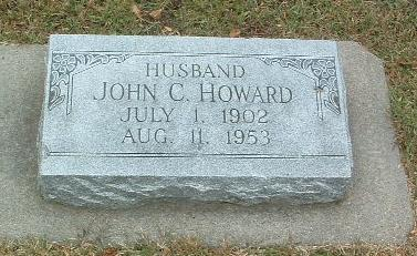 HOWARD, JOHN C. - Mills County, Iowa | JOHN C. HOWARD