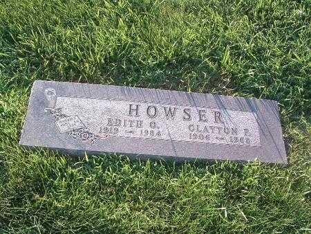 HOWSER, EDITH O. - Mills County, Iowa | EDITH O. HOWSER