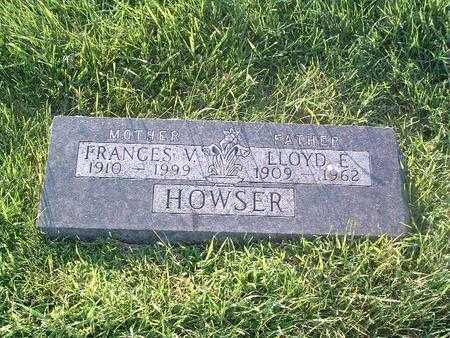 HOWSER, LLOYD E. - Mills County, Iowa | LLOYD E. HOWSER