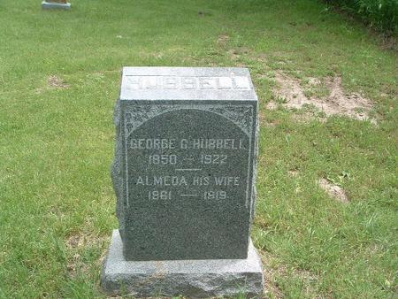 HUBBELL, GEORGE G. - Mills County, Iowa | GEORGE G. HUBBELL