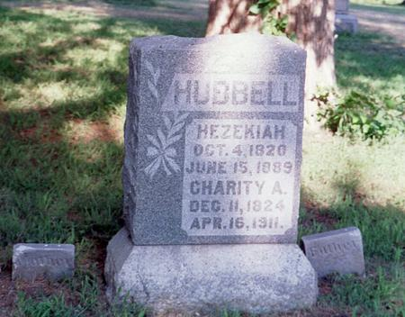 GILBERT HUBBELL, CHARITY A. - Mills County, Iowa | CHARITY A. GILBERT HUBBELL