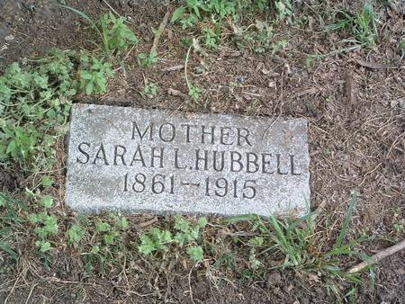 HUBBELL, SARAH L. - Mills County, Iowa | SARAH L. HUBBELL