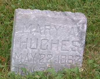 HUGHES, MARY A. - Mills County, Iowa | MARY A. HUGHES