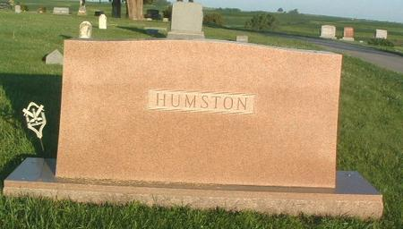 HUMSTON, FAMILY HEADSTONE - Mills County, Iowa | FAMILY HEADSTONE HUMSTON