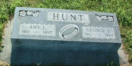 HUNT, GEORGE S. - Mills County, Iowa | GEORGE S. HUNT