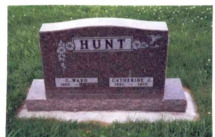 SKERRITT HUNT, CATHERINE JANE - Mills County, Iowa | CATHERINE JANE SKERRITT HUNT