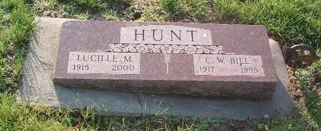 HUNT, LUCILLE M. - Mills County, Iowa | LUCILLE M. HUNT