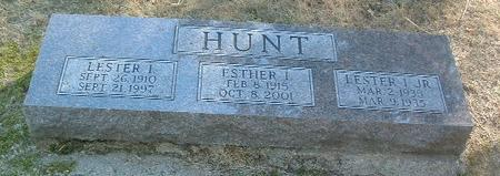 HUNT, LESTER I. - Mills County, Iowa | LESTER I. HUNT