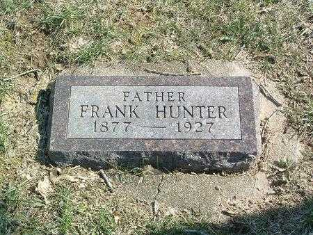HUNTER, FRANK - Mills County, Iowa | FRANK HUNTER