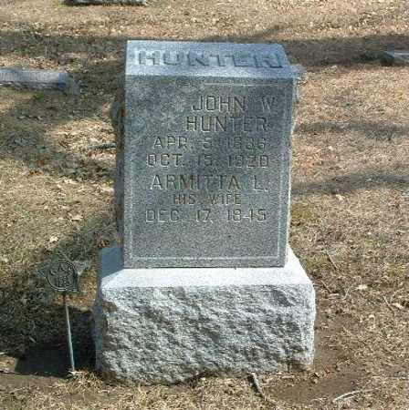 HUNTER, ARMITTA L. - Mills County, Iowa | ARMITTA L. HUNTER