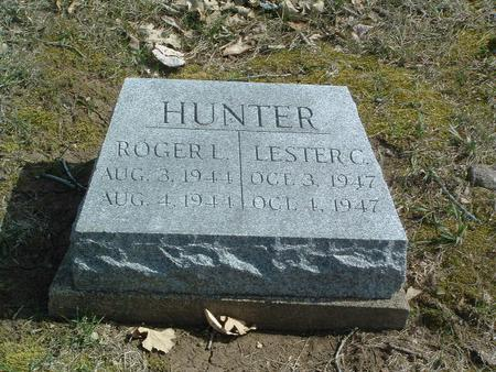 HUNTER, ROGER L. - Mills County, Iowa | ROGER L. HUNTER