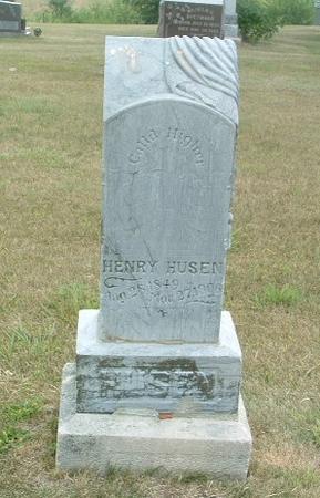 HUSEN, HENRY - Mills County, Iowa | HENRY HUSEN