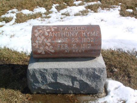 HYME, ANTHONY - Mills County, Iowa | ANTHONY HYME