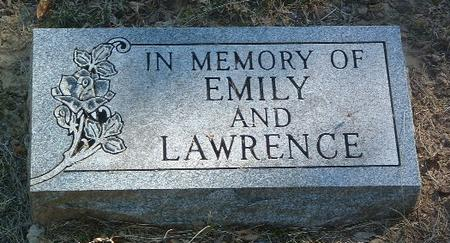 IN MEMORY OF, LAWRENCE - Mills County, Iowa | LAWRENCE IN MEMORY OF