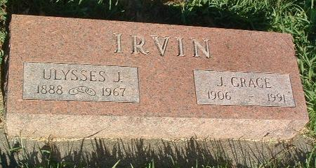 IRVIN, J. GRACE - Mills County, Iowa | J. GRACE IRVIN