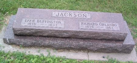 BUFFINGTON JACKSON, EFFIE - Mills County, Iowa | EFFIE BUFFINGTON JACKSON