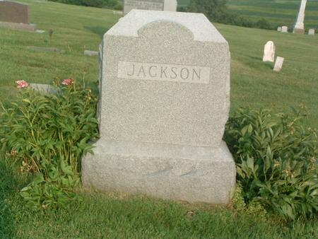 JACKSON, FAMILY HEADSTONE - Mills County, Iowa | FAMILY HEADSTONE JACKSON