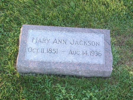 JACKSON, MARY ANN - Mills County, Iowa | MARY ANN JACKSON