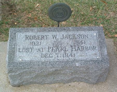 JACKSON, ROBERT W. - Mills County, Iowa   ROBERT W. JACKSON