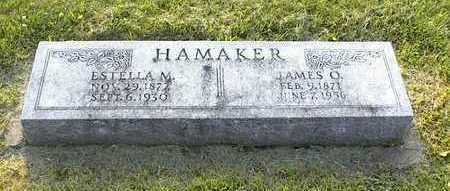 ESTELLA MAE, HAMAKER - Mills County, Iowa | HAMAKER ESTELLA MAE