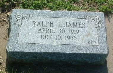 JAMES, RALPH L. - Mills County, Iowa | RALPH L. JAMES