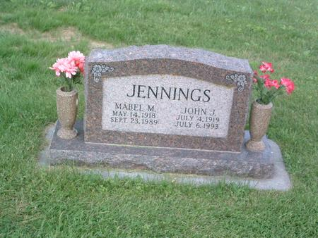 JENNINGS, MABEL M. - Mills County, Iowa | MABEL M. JENNINGS