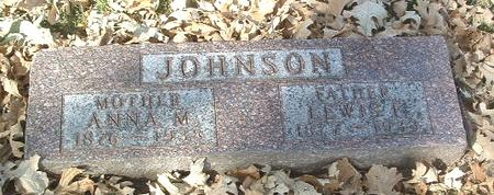 JOHNSON, ANNA M. - Mills County, Iowa | ANNA M. JOHNSON