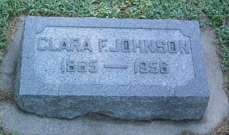 JOHNSON, CLARA F. - Mills County, Iowa | CLARA F. JOHNSON