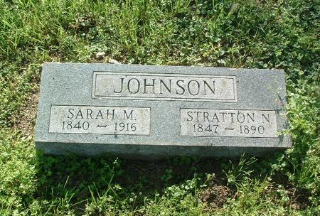 JOHNSON, SARAH M. - Mills County, Iowa | SARAH M. JOHNSON