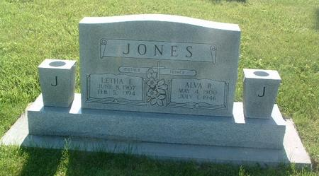 JONES, ALVA R. - Mills County, Iowa | ALVA R. JONES