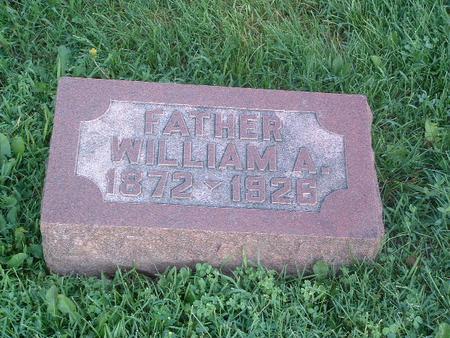 JONES, WILLIAM A. - Mills County, Iowa   WILLIAM A. JONES