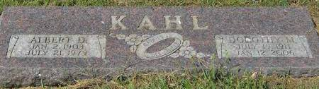 KAHL, ALBERT DETLEF - Mills County, Iowa | ALBERT DETLEF KAHL