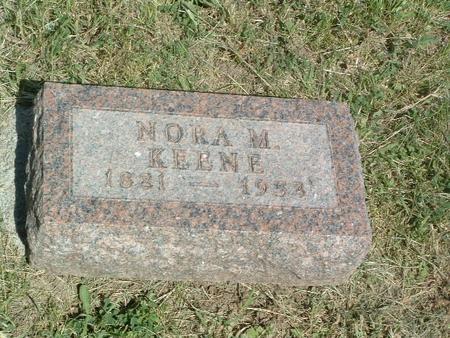 KEENE, NORA M. - Mills County, Iowa | NORA M. KEENE