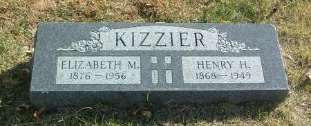 KIZZIER, HENRY H. - Mills County, Iowa | HENRY H. KIZZIER