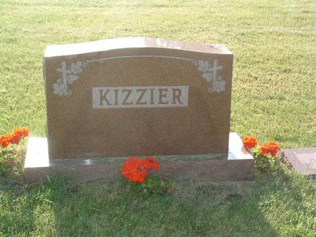 KIZZIER, HEADSTONE - Mills County, Iowa | HEADSTONE KIZZIER