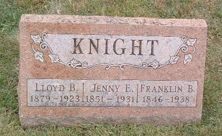 KNIGHT, FRANKLIN B. - Mills County, Iowa | FRANKLIN B. KNIGHT