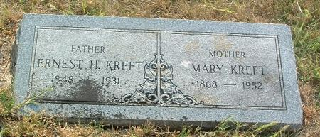 KREFT, MARY - Mills County, Iowa | MARY KREFT