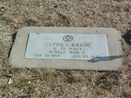 KRUSE, CLYDE L. - Mills County, Iowa   CLYDE L. KRUSE