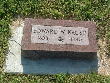KRUSE, EDWARD W. - Mills County, Iowa | EDWARD W. KRUSE