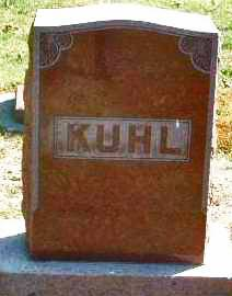 KUHL, FAMILY HEADSTONE - Mills County, Iowa | FAMILY HEADSTONE KUHL